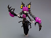 Liquorice (Djokson) Tags: robot mecha girl fembot princess spooky tentacles hair claws bat wings purple black yellow lego bionicle moc model toy djokson