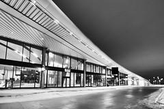 Highway 407 Subway Station, Vaughan, ON, Canada (leo_li's Photography) Tags: highway407subwaystation yorkregion vaughan bw subwaystation ontario canada 加拿大 ttc
