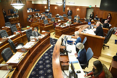 Alaska House of Representatives - technical session - March 28, 2018. (KTOO Public Media) Tags: alaska house representatives state operating budget permanent fund dividend technical session