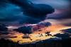 Wide (Melissa Maples) Tags: antalya turkey türkiye asia 土耳其 nikon d3300 ニコン 尼康 nikkor afs 18200mm f3556g 18200mmf3556g vr spring rooftopview mountain clouds evening dusk sundown sunset snow