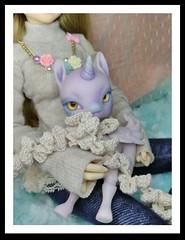 Missy Macarone (KiwisBitterSweet) Tags: aimeraidoll aimerai doll 112specialdoll 112 special missluna tiny bjd unicorn