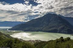 Lago di Mezzola (cesco.pb) Tags: lombardia lombardy lagodimezzola valchiavenna valtellina canon canoneos60d tamronsp1750mmf28xrdiiivcld tracciolino italia italy lago lake