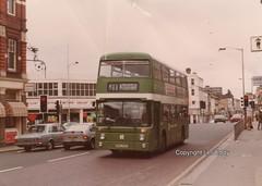 AN173, Croydon, March 1982 (aecregent) Tags: croydon march1982 londoncountry lcbs an68 parkroyal an an173 xpg173t 411