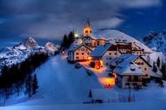 Lussari Twilight (hapulcu) Tags: montelussari alpen alpes alpi alps friuli giulia italia italie italien italy julian tarvisio hiver invierno winter