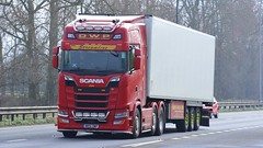 MR51 DWP (panmanstan) Tags: scania ng s500 wagon truck lorry commercial freight transport haulage vehicle a63 everthorpe yorkshire