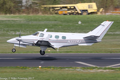 N322RJ - 1974 build Beech B60 Duke, arriving on Runway 24 at Friedrichshafen during Aero 2017 (egcc) Tags: aero aerofriedrichshafen aerofriedrichshafen2017 aeromobil b60 be60 beech beech60 beechcraft bodensee duke edny fdh friedrichshafen lightroom n129lp n322rj n6022s n666mr p322