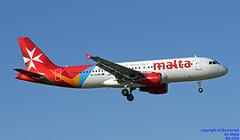 9H-AEN LMML 06-04-2018 (Burmarrad (Mark) Camenzuli Thank you for the 11.6) Tags: airline air malta aircraft airbus a320214 registration 9haen cn 2665 lmml 06042018