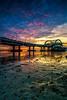 Blue Golden Light (Rendy Rijanto Pilinaung) Tags: blue hour golden surabaya beach kenjeran jawa timur jembatan thr light landscape surabayalandscaper
