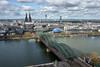 Köln - Deutschland (Ernst_P.) Tags: brücke deu deutschland dom fluss kirche köln kölnerdom nordrheinwestfalen rhein hochhaus landschaft landscape paisaje sigma 24105mm f40 triangle kölntriangle