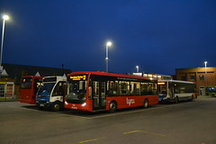 Stagecoach Norfolk & 47243 GX55DXM & Lynx 1 YJ05JWZ (Will Swain) Tags: kings lynn bus station 13th january 2018 east town centre buses transport travel uk britain vehicle vehicles county country england english stagecoach norfolk 47243 gx55dxm lynx 1 yj05jwz