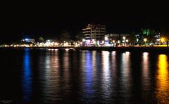 Dumaguete By Night (vincent.lecolley) Tags: asia dumaguete longexposure d3300 18200 reflection