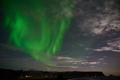 Kirkjufjara_aurora_L1090463 (nocklebeast) Tags: auroraborealis iceland kirkjufjarabeach nrd aurora stars ocean beach vik southcoast