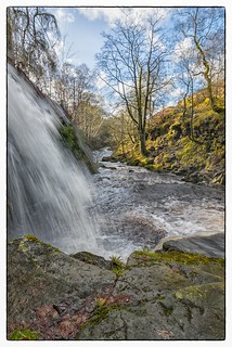 Lumb Hole Waterfall at Hebden Bridge