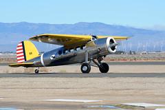 Lockheed Vega (linda m bell) Tags: losangelescounty airshow 2018 lancaster california foxfield aircraft lockheed vega n12288 1933