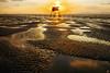 Golden dawn (-clicking-) Tags: landscape sunrise dawn goldensunrise goldendawn sand sandy vietnam cầngiờ vietnameselandscape