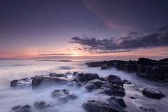 Undisclosed Desires (johnkaysleftleg) Tags: snookpoint sunrise northumberland northumberlandcoast tidal tidalflow rocks le longexposure 5stopfilter canon760d sigma1020mmf456exdchsm ndhardgrad06