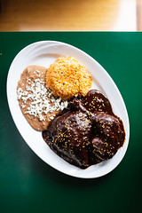 Chicken Mole (Spencer Pernikoff) Tags: food nikon d750 sigma 3514 35mm mexican mole oaxacan stlouis