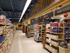 """""""store"""" within a store design... (Nicholas Eckhart) Tags: america us usa 2018 marion indiana in retail stores needlers fresh market former reuse marsh supermarket groceries interior"""