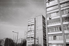(mooravan) Tags: 35mm 35mmphoto analog panasonic panasonicsupermini compactcamera pointshoot pointandshoot moscow saintpetersburg streetphoto streetphotobw monochrome