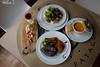 Menu (Javiera Peralta Toro-Moreno) Tags: selkfe patagonia restaurant restaurante chile restobar comida food viña platos plates menu blanco white pannacotta pollo chiken verduras ensalada vegetales vegetables salad sopa soup postre dessert