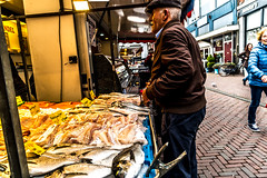 Leiden market (walterkolkma) Tags: netherlands leiden market markets fish vegetable cheese dutch sonya6500 stalls