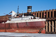 Victory Stern (tubaman21) Tags: superior wisconsin superiorwisconsin np ore dock northern pacific northernpacific americanvictory algoma central algomacentral