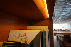 2018-04-FL-183493 (acme london) Tags: barcelona fira furniture hotel interior jeannouvel leather leatherbookshelf lobby renaissancehotelfira spain