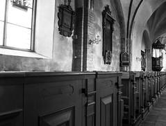 Church (P. Burtu) Tags: sweden sverige kyrka church light ljus blackwhite svartvitt gud hus window fönster sollentuna god house