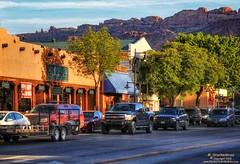 Main Street, Downtown Moab Utah (PhotosToArtByMike) Tags: moabutah mainstreet shop store moab utah ut grandcounty easternutah archesnationalpark canyonlandsnationalpark tourists tourism limestone canyon scenic desert landscape statepark monuments desertlandscape