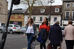 I was Leaning on a Lamp Post (Bury Gardener) Tags: streetphotography street streetcandids candid candids people peoplewatching folks strangers burystedmunds suffolk eastanglia england uk cornhill