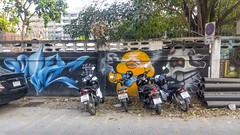 Chiang Mai (mendofacebook) Tags: motorbike streetart chiangmai thailand