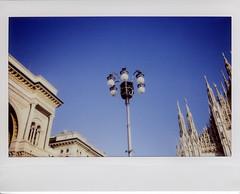 Milano (Valt3r Rav3ra - DEVOted!) Tags: fuji fujiinstaxwide300 instantfilm instantcamera instax colori analogico milano film duomodimilano valt3r valterravera visioniurbane urbanvisions lampione lamp