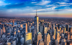 Ariel NYC (Gobinath Mallaiyan) Tags: newjersey newyorkcity sunset ariel photography flights over nyc manhattan