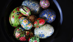 dreaming in color (saragallery) Tags: paintedeggs egg color colorist happy easter red blue black macro spring flower pattern contrast light composition nature decoration holiday romantic beautiful pretty festive dream flickerfriday flfrok art