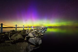 Northern Lights Breakwall