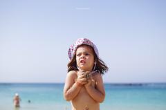 Summer, Come to Us! (Iker Merodio | Photography) Tags: laida beach summer playa blanca dorada hondartza uda pentax k50 sigma 30mm art blue sky sea lanzarote canary islands