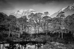 Liathach (Scott Robertson (Roksoff)) Tags: bendamph benalligin kinlochewe gairloch liathach slioch lochclair westerross torridon lochmaree beinneighenationalnaturereserve leathadbuidhe glenbianasdail sgurrdubh beinnamhuinidh sgurrbeinnamhuinidh upperlochtorridon beinneighe rainbow atmosphere mood scotland winter snow ice river water sky outdoors nikond800 nikond810 mono blackandwhite landscape 1635mmf4 70200mmf28 leefilters gitzo