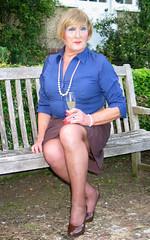 Wheatblushrtsit-003 (fionaxxcd) Tags: crossdressers crossdressing transvestite trannie tranny m2f mtf girlyboi tights stilettos rednails pearls