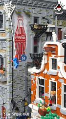I Saw Spider-Man Today By Barthezz Brick 11 (Barthezz Brick) Tags: lego afol spiderman custom moc comic marvel nyc fantasy brick barthezzbrick legocreator brickbuild barthezz coca cola