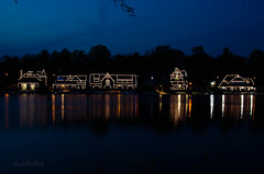 Boathouse Row (lvphotos!) Tags: boathouse reflection river schuylkill structure landmark historic site pennsylvania travel usa rowing clubs lights outline design attraction night evening