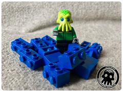 42-1 Spraying Redux (captainmutant) Tags: afol classic space lego ideas legospace minifig minifigures moc sciencefiction scifi exploration legography brickography photography toy