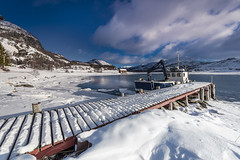 White is beautiful (Sizun Eye) Tags: kviby pier village fishing boat fjord altafjord finnmark norway winter snow ice frozen cold sizuneye arctic nikond750 leirbotn nikkor 1424mmf28