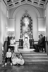 Fríkirkjan í Reykjavík (LalliSig) Tags: wedding photographer iceland people portrait portraiture black white gray fríkirkjan í reykjavík church ceremony