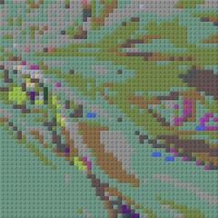 pus (fsaiwxbm12) Tags: lego art bricks blocks patterns mosaics codes symbols