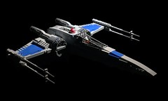T-70 X-wing (atlas_er) Tags: star wars x wing xwing t70 t 70 starfighter episode 7 vii force awakens lego moc ship spaceship sequel trilogy new starwars fighter poe dameron last jedi dqar battle space 8 viii blue squadron
