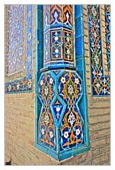 Samarqand UZ -  Gur-e-Amir Mausoleum 12 (Daniel Mennerich) Tags: silk road uzbekistan gūri amīr samarqand history architecture hdr