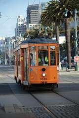 07APR2018-SF-Pier39-IMG_3833 (aaron_anderer) Tags: sf sfbay bayarea sanfrancisco fishermanswharf pier39 pier 39 2018 california muni fline f line streetcar street car retro classic
