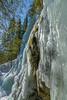 Hitonhauta, frozen water (livejungle) Tags: finland laukaa suomi hitonhauta glacier icicle trees wood spring snow jää jääpuikko jäätikkö lumi kevät rock tree waterfall sky d850 ice travel matkailu nikon 24120mm ravine