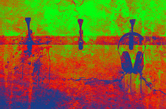 Listen (Jackie XLY) Tags: shockofthenew rgb urban red blue green
