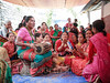 Nepali wedding (whitworth images) Tags: women asia people sari dance wedding rural marriage red culture pokhara tambourine drum village nepal kaski custom female indiansubcontinent music nepali hindu